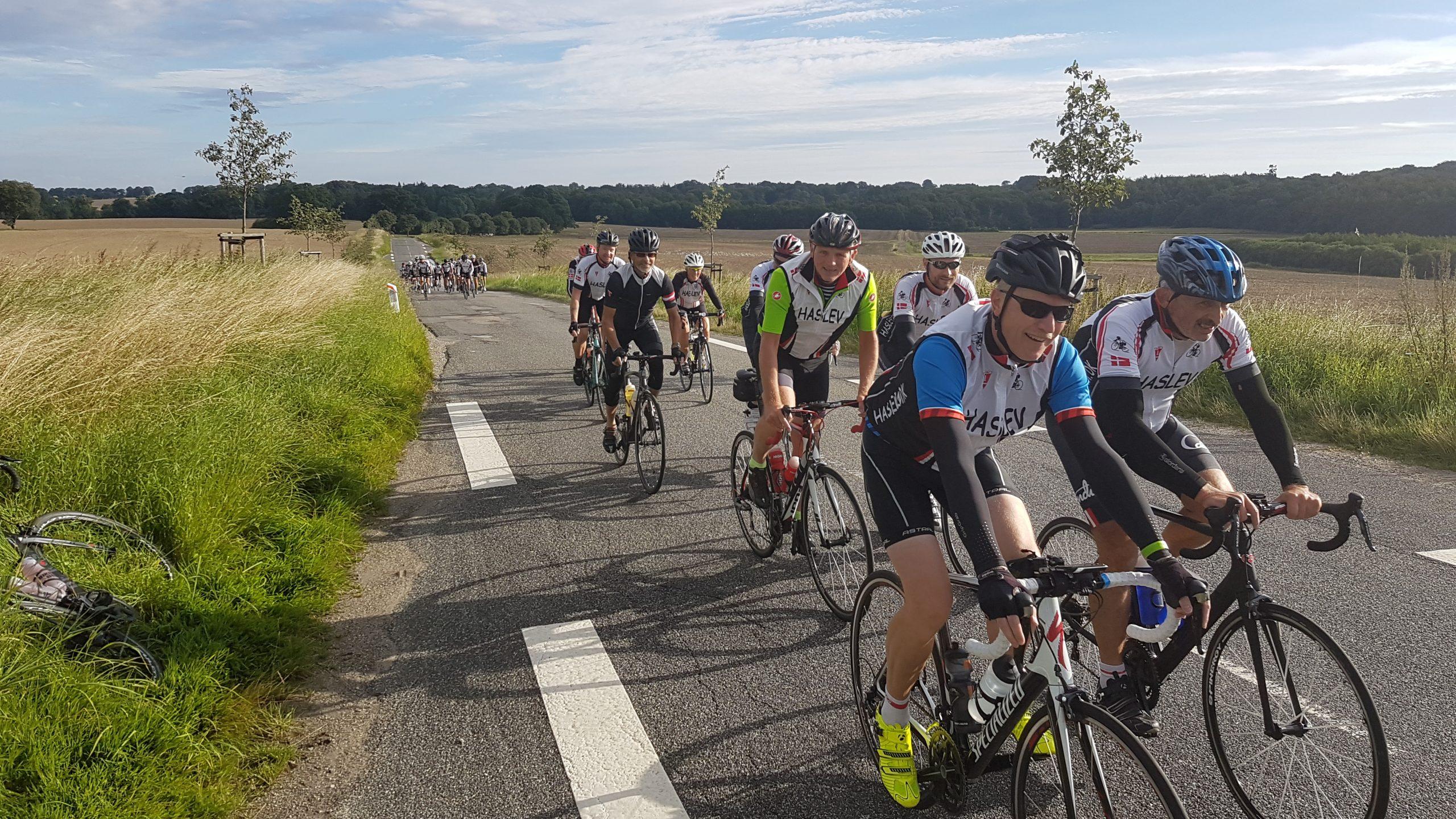 Haslev Cykelmotion - Klubben med plads til motion på hyggeplan og konkurrenceplan med vægt på det sociale.